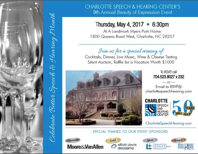 We are looking forward to our 9th Annual Beauty of Expression Event on Thursday!