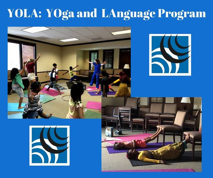 When Yoga and Speech Therapy collides, you get YOLA – one of our newest programs!