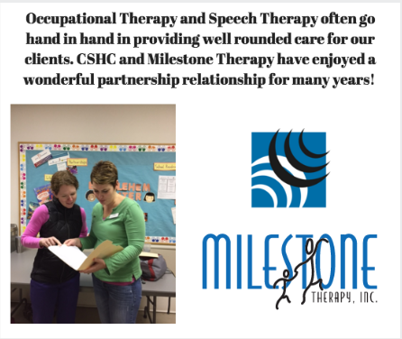 Occupational Therapy and Speech Therapy Often Go Hand in Hand