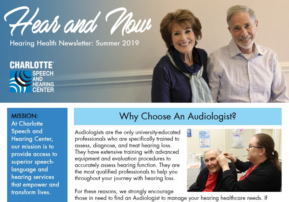Hear and Now Newsletter front cover