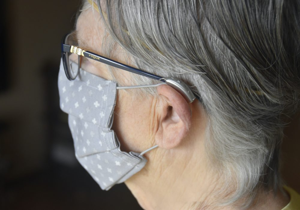 mask hearing aid